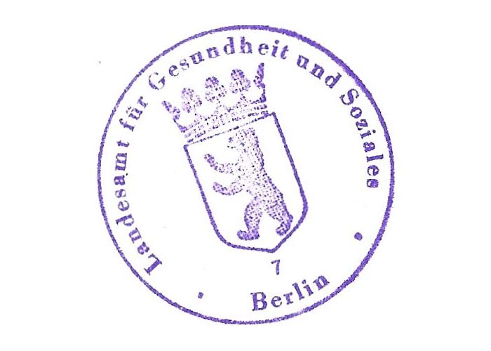 Physiotherapeut Stempel
